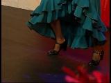 Фламенко – видео уроки с Натальей Трескало пасео, сложные пасео, пасео по диагонали, сложные дроби ч.3 [zhezelru]